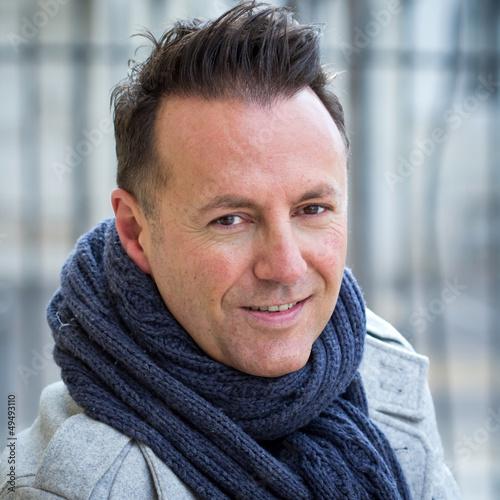 Portrait : homme 40 ans (hiver)