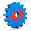Right Puzzle Of Gear