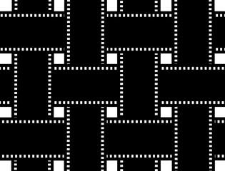 Negative picture film frame