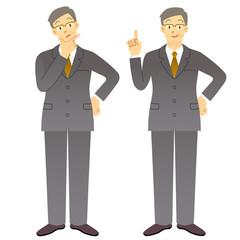 ビジネスマン 男性 会社員
