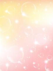 シャボン玉 背景 ピンク 春