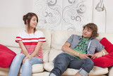 teenager first date at home poster