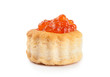 red caviar isolated