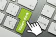 Vielen dank Tastatur finger