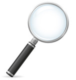 magnifier vector illustration