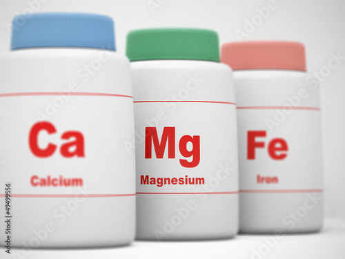 Calcium, Magnesium, Iron supplements. Focus on Magnesium.
