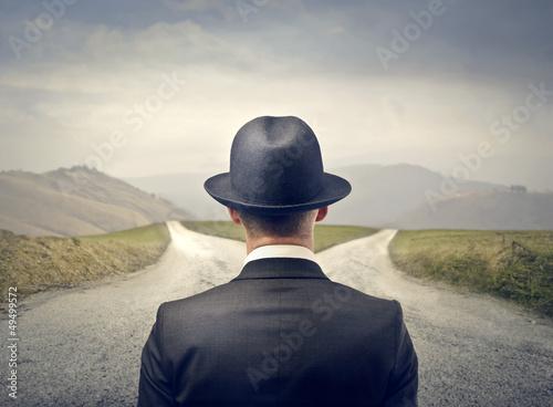 Leinwandbild Motiv choice