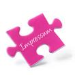 Pink Puzzle Piece - Impressum