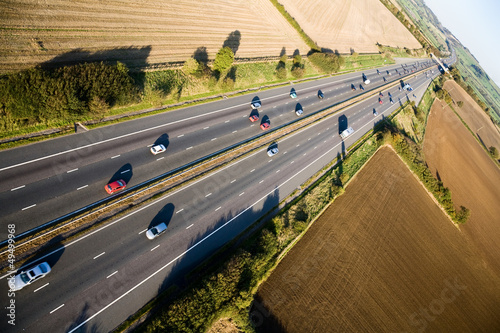 Motorway from the air