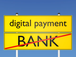 Bezahlsysteme, digital - payment - 3D