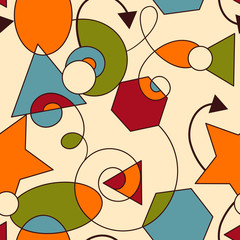 Vector Abstract Seamless Composition