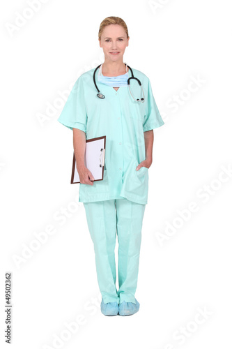 Portrait of nurse