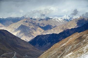 View on a Karakorum Himalayas range