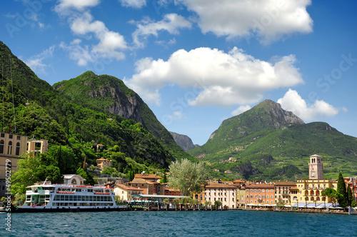 the city of Riva del Garda, Lago di Garda ,Italy