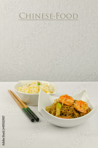 Chinese food, some plate