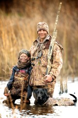 Father and Son Hunt