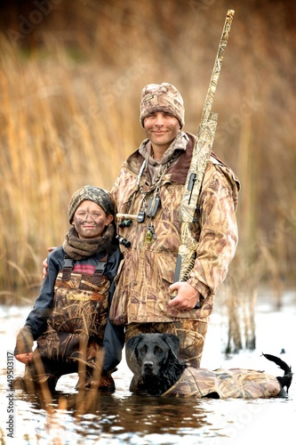 Father and Son Hunt - 49503117