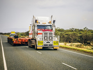 oversize load ahead