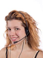 Telefonista al call center
