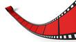 Blanko Filmrolle Rot 02
