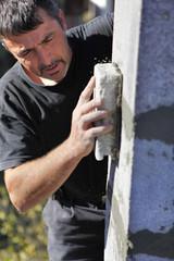 Mason smoothing wall