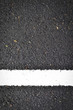 new white line on the road texture
