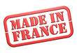 """Tampon """"Made in France"""""""