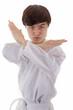 Asian martial art fighter