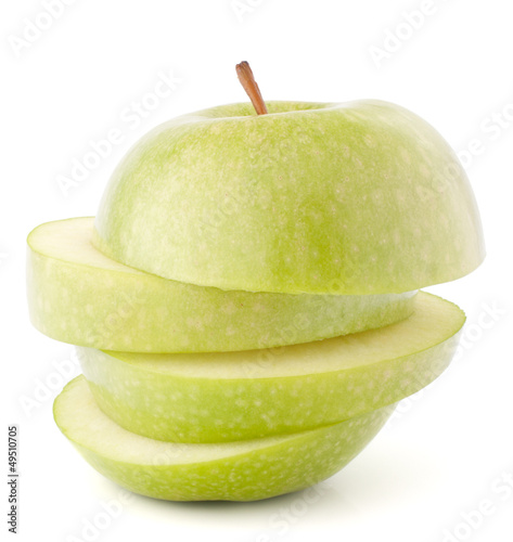apple green sliced