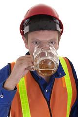 drunk at work