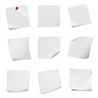 collection of various leaflet blank white paper