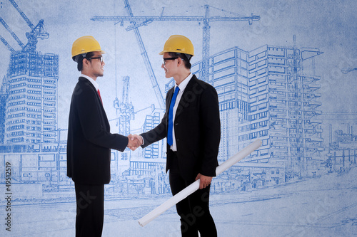 Agreement between two architects