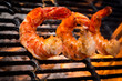 Jumbo Shrimp on a Grill