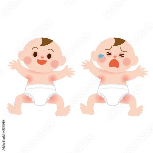 赤みのある赤ちゃん