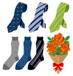 Necktie and socks - Father's Day gift