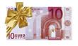 billet cadeau de 10 euros