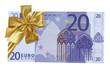 billet cadeau de 20 euros