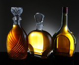 Three Decanters