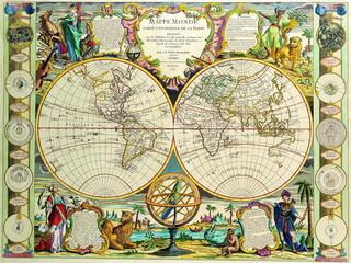 Antique Map 1755