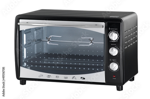An electric oven for roasted chicken or baked bread