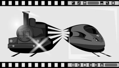 поезд, фильм, кадр