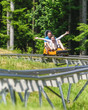 Spass im Alpine-Coaster
