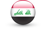 Round icon with national flag of Iraq