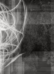 grey digital abstract