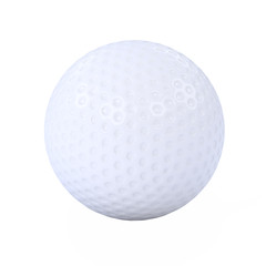 Isolated 3d Golf Ball