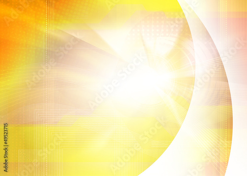 yellow digital backdrop