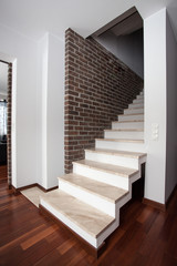 Country home - stairs