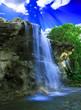 Leinwandbild Motiv Magical waterfall