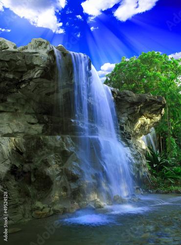 fototapeta na ścianę Magiczny wodospad