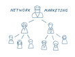 Network Marketing Illustration